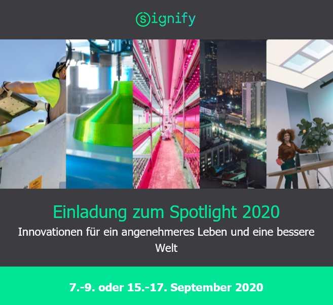 SIGNIFY | Spotlight 2020