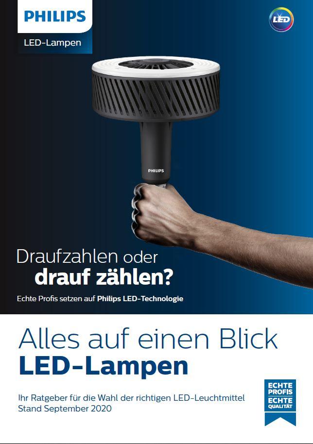 PHILIPS LED-Lampen Stand September 2020